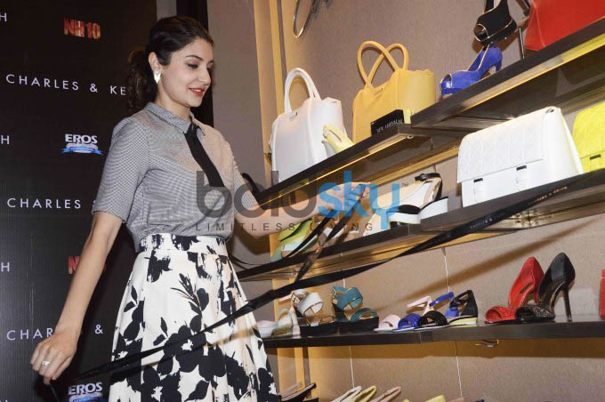 Anushka Sharma Launches Charles And Keith NH10 Collection