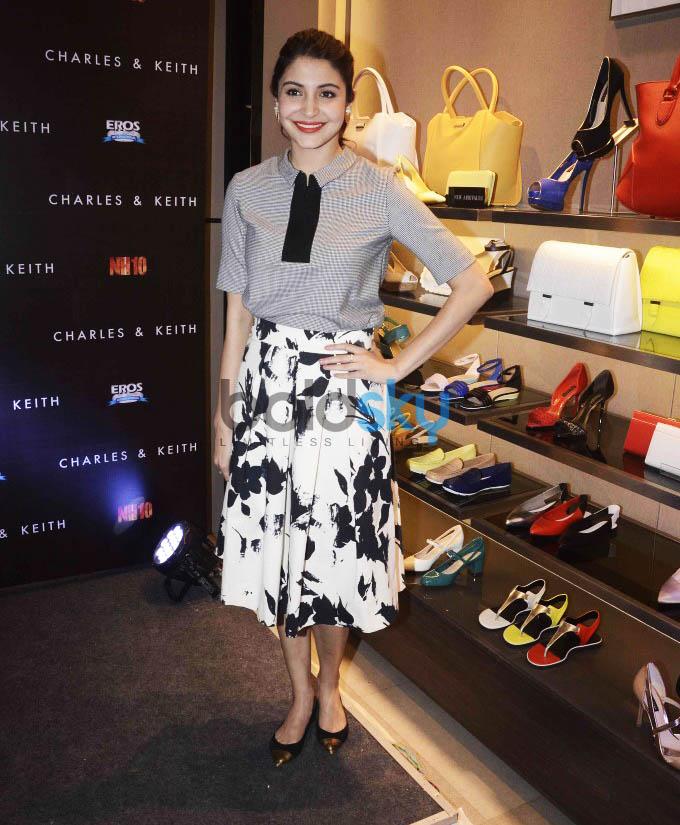 Anushka Sharma Launches Charles And Keith NH10 Collection