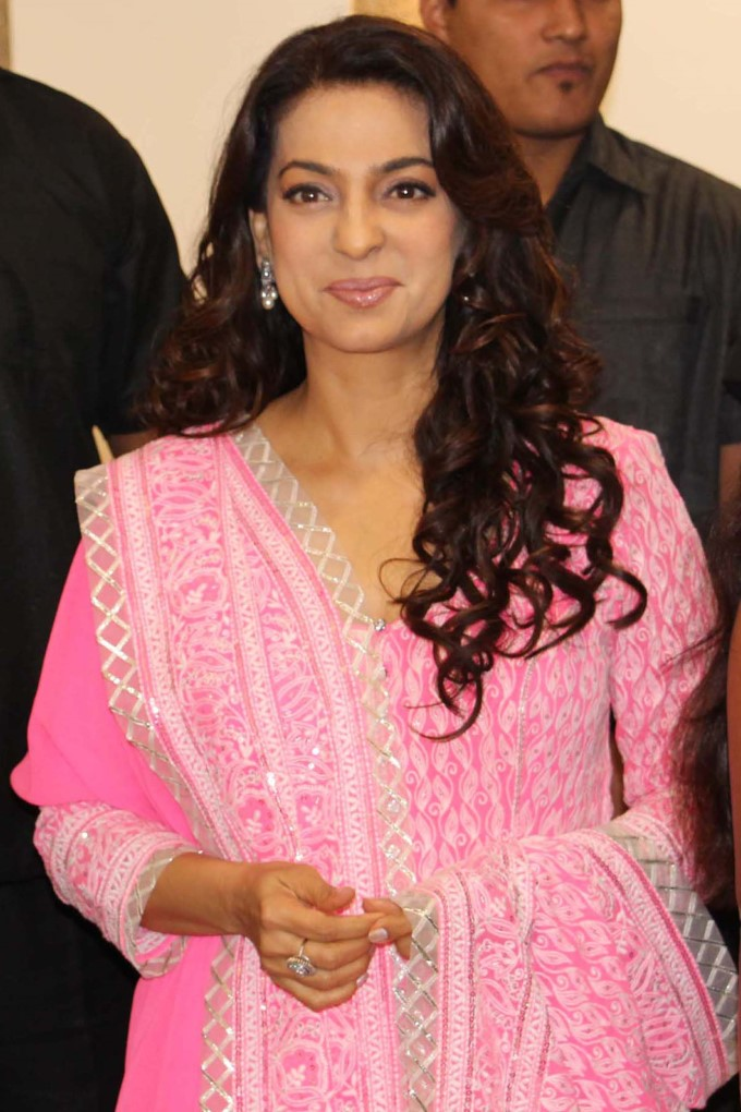 Juhi Chawla Inaugrated A Women Specialty Hospital On The Occasion Of International Women's Day In Ne