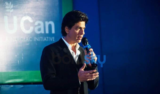 Brand Ambassador Shah Rukh Khan Promotes  Kansai Nerolac Initiative-U CAN