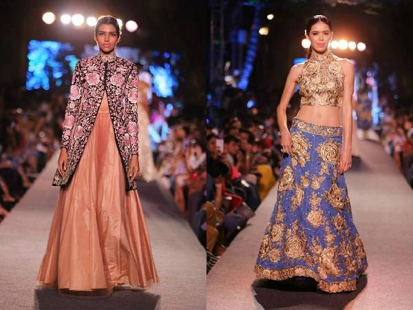 Lakme Fashion Week 2015 WEvolve  Blue Fashion Runway By Manish Malhotra