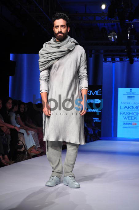 Lakme Fashion Week 2015 ANTAR AGNi-DAY 2-SHOW 1