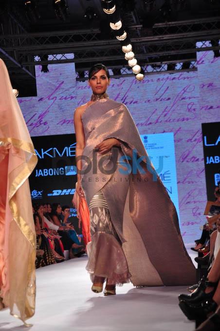 Lakme Fashion Week 2015 KIRAN UTTAM GHOSH - DAY 02-SHOW 07