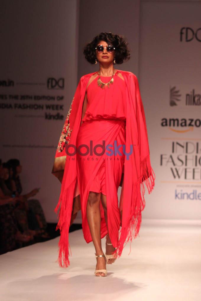 Amazon India Fashion Week 2015 NIKASHA