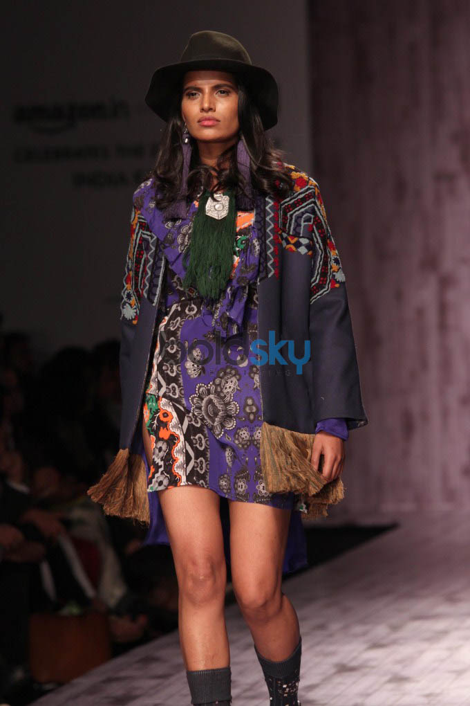 Amazon India Fashion Week 2015 HEMANT AND NANDITA