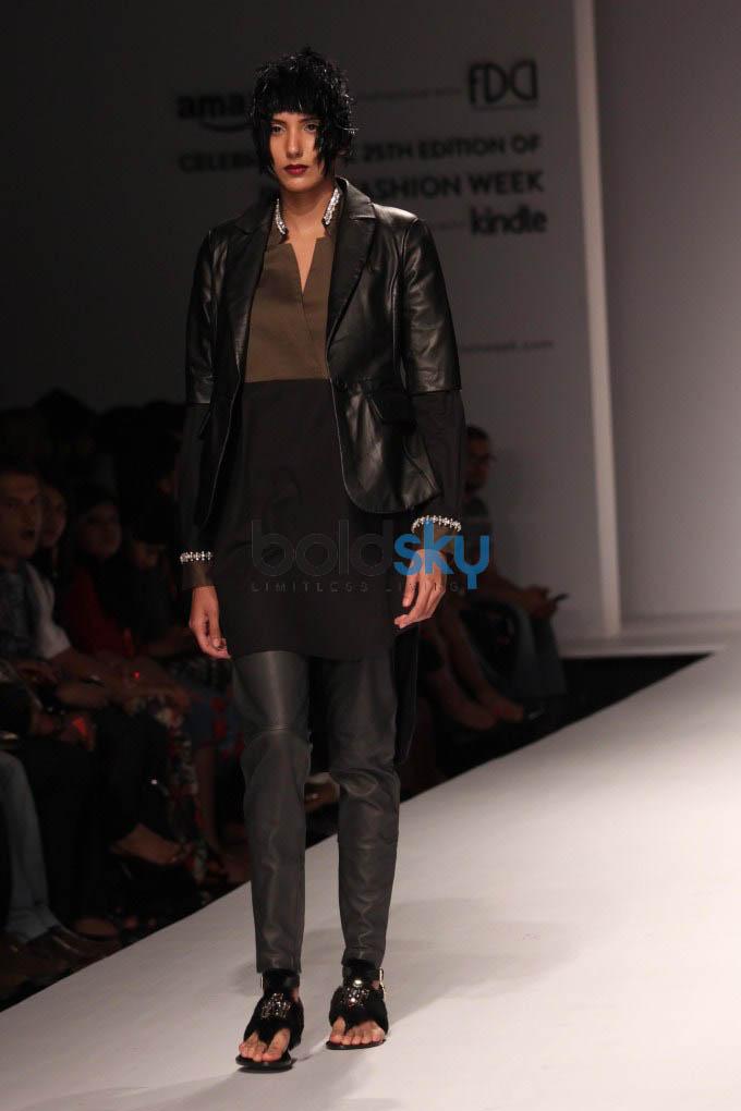 Amazon India Fashion Week 2015 SANCHITA