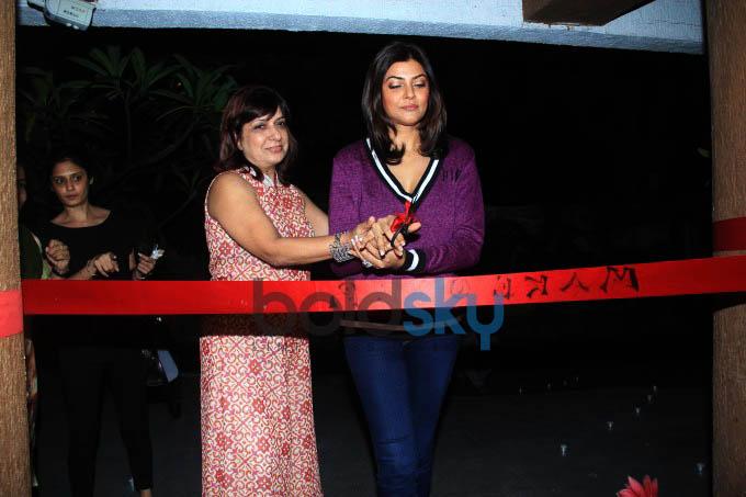 Sushmita Sen Inaugurates Soapbox And Makeover Salon
