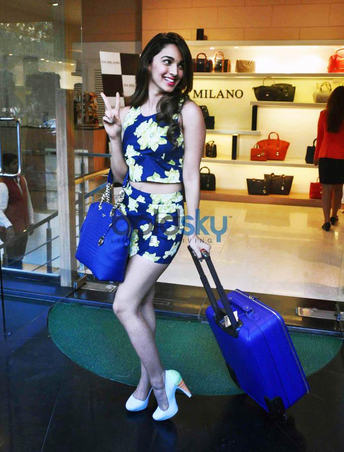 Kiara Advani Launch Da Milano Spring Summer Collection ...