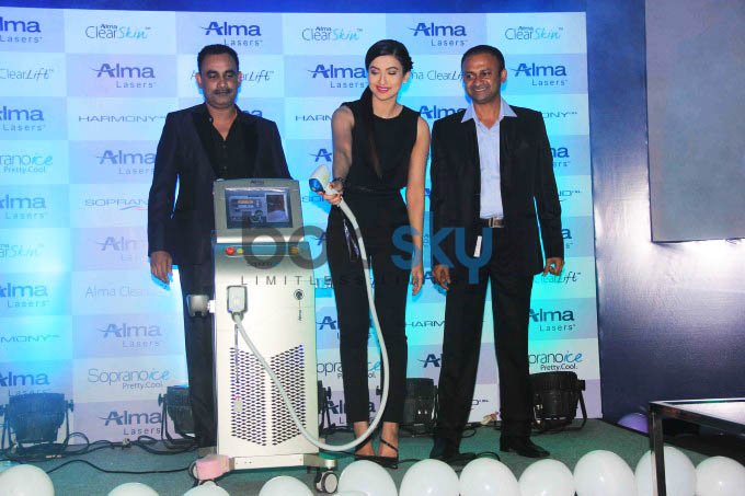 Gauhar Khan Launches India Office Of Alma Medical Pvt Ltd