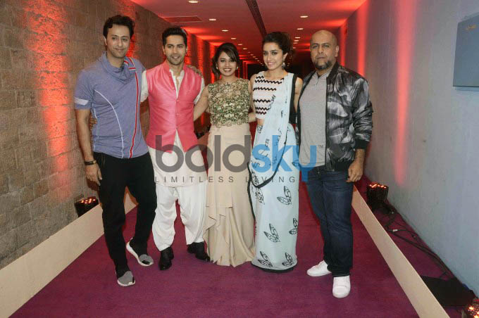 Varun And Shraddha Kapoor At Auditions Of Indian Idol Junior