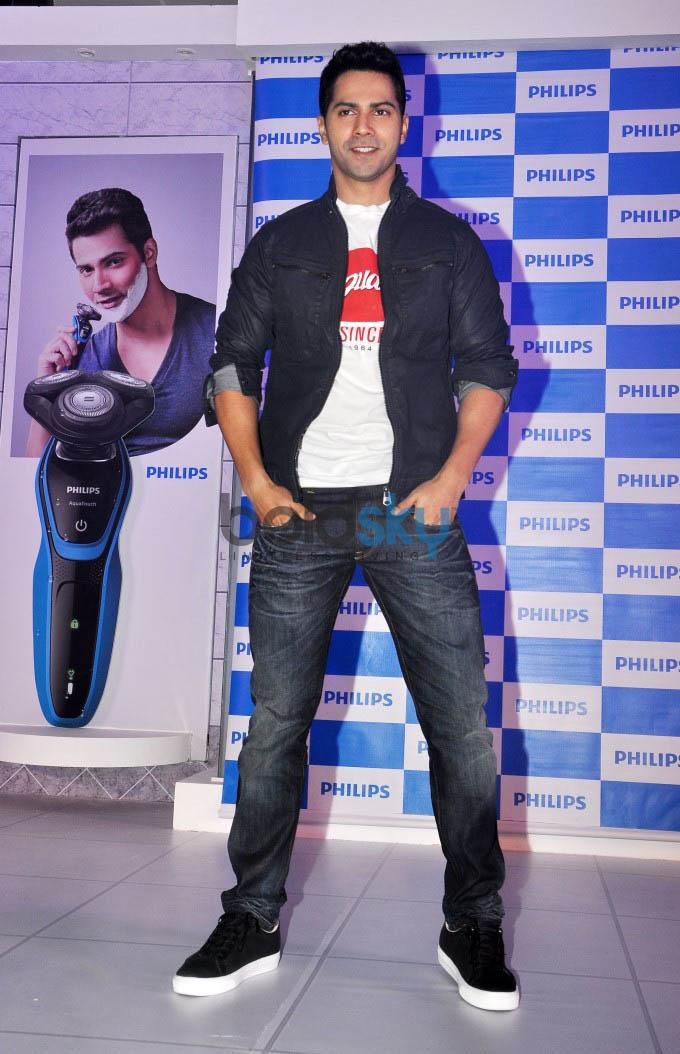 Philips India Announces Varun Dhawan As Its Brand Ambassador Photos