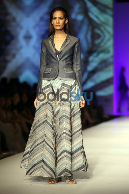 Designer Pallavi Mohan, Hemant And Nandita Show At AIFW