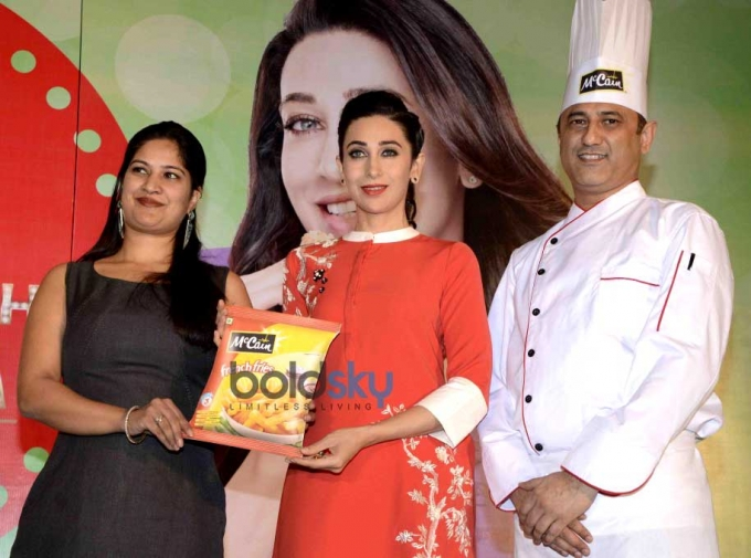 Karisma Kapoor At Mc Cain Food Launch Event