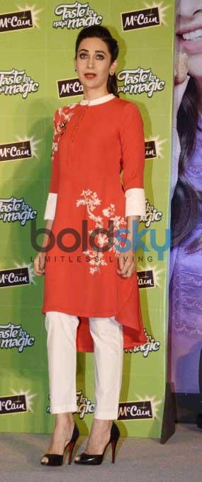 Karisma Kapoor At Mc Cain Food Launch Event