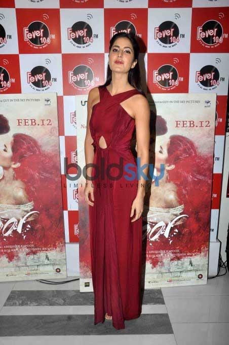 Aditya Roy And Katrina Kaif Promote 'Fitoor' At Fever 104 FM