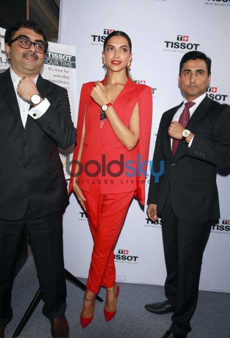 Deepika Padukone At Launch Of Tissot Watch Store