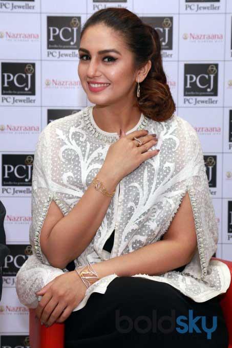 Huma Qureshi Launches New Jewellery Edition Nazraana