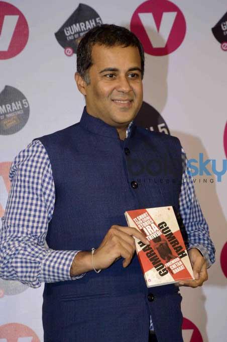 Ira Trivedi And Chetan Bhagat At Book Launch Gumrah