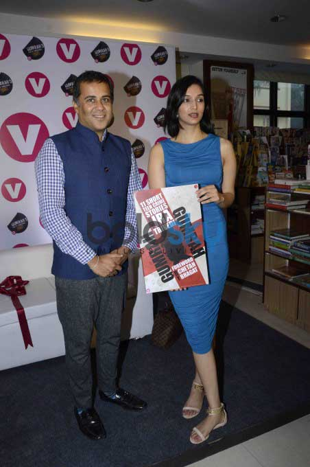 Ira Trivedi And Chetan Bhagat At Book Launch Gumrah