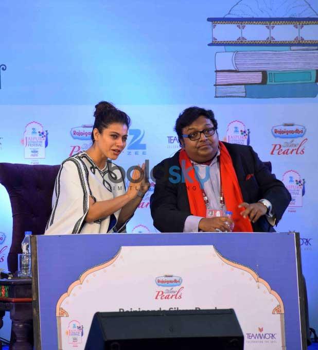 Kajol Attended Jaipur Literature Festival