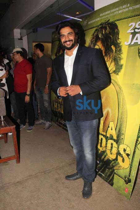 Kangana, Shilpa, Dia And Others At Saala Khadoos Screening