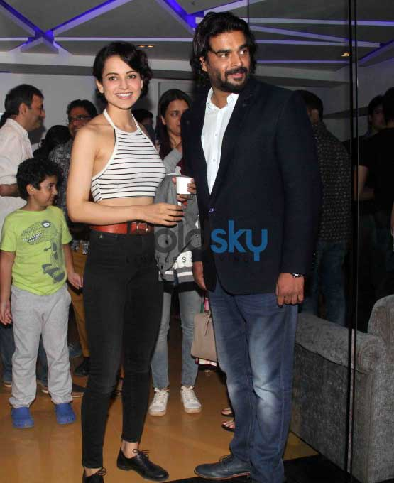 Kangana, Shilpa, Dia And Others At Saala Khadoos Screening