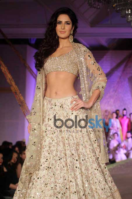Katrina Kaif & Aditya Roy Walk The Ramp For Manish Malhotra & Sahachari Foundation