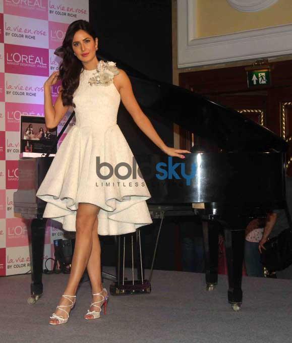 Katrina Kaif Launches Her Signature Lip Colour