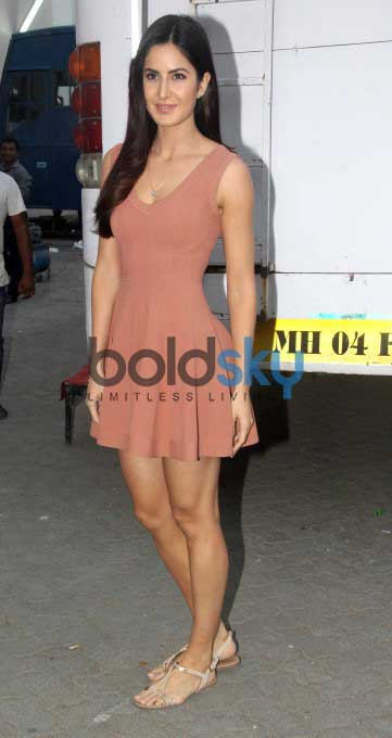 Katrina Kaif Snapped At Mehboob Studio