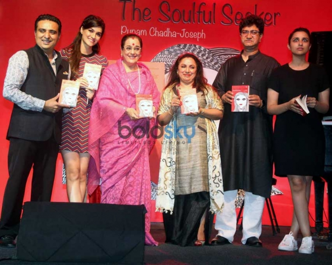 Kriti Sanon And Parineeti Chopra Launches Punam Chadha Joseph's Book The Soulful Seeker