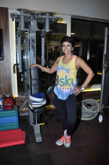 Mandira Bedi Reveals Her Diet And Exercise Regimen
