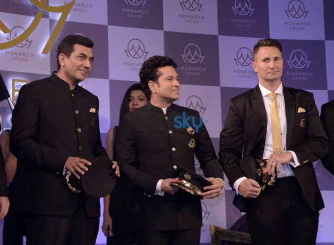 Sachin Tendulkar Unveils Monarch's Luxurious Cricket And Bollywood Cruise