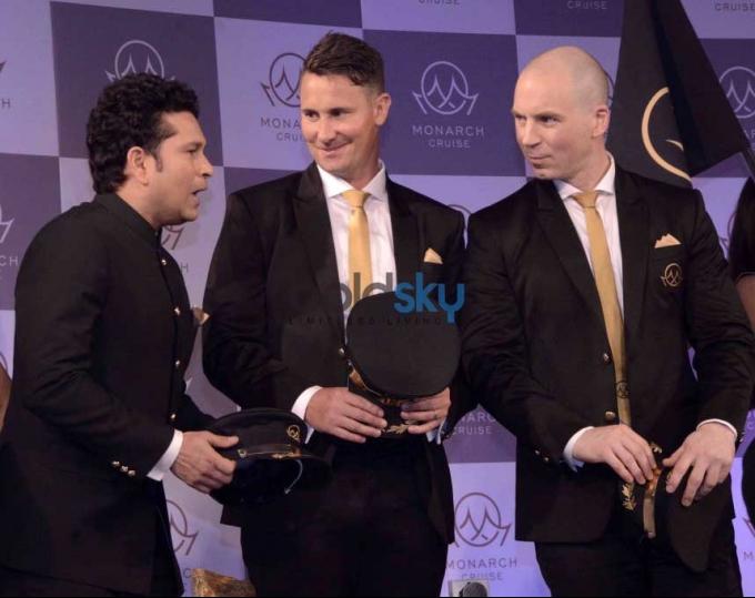 Sachin Tendulkar Unveils Monarch's Luxurious Cricket And Bollywood Cruise