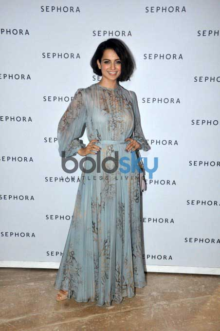 Kangna Ranaut At The Launch Of Sephora Store