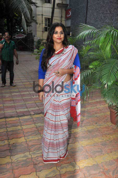 Vidya Balan At The Launch Of Novel 'Dark Things'