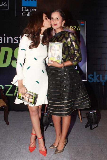 Parineeti Chopra And Sania Mirza At Launch Of Book Ace Against Odds