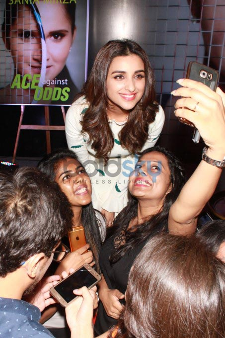 Parineeti Chopra And Sania Mirza At Launch Of Book Ace