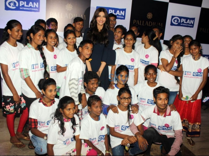 Bollywood Actress Sonam Kapoor Graces Plan International
