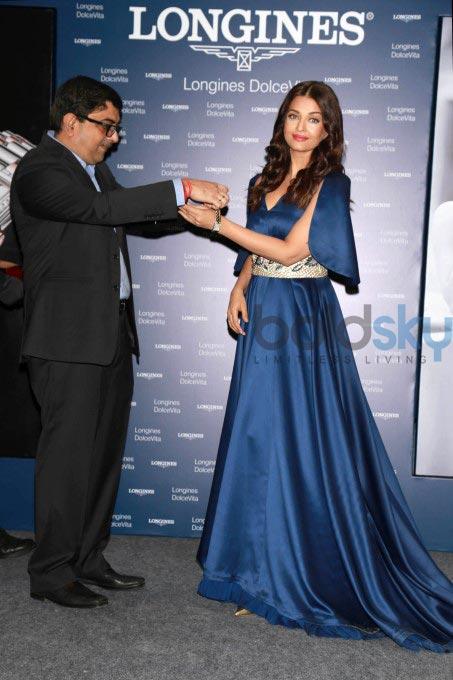 Aishwarya Rai At Launch Of Longiness Store