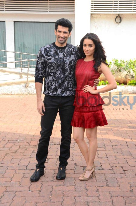 Shraddha Kapoor In Red Dress For Ok Jaanu Promotions