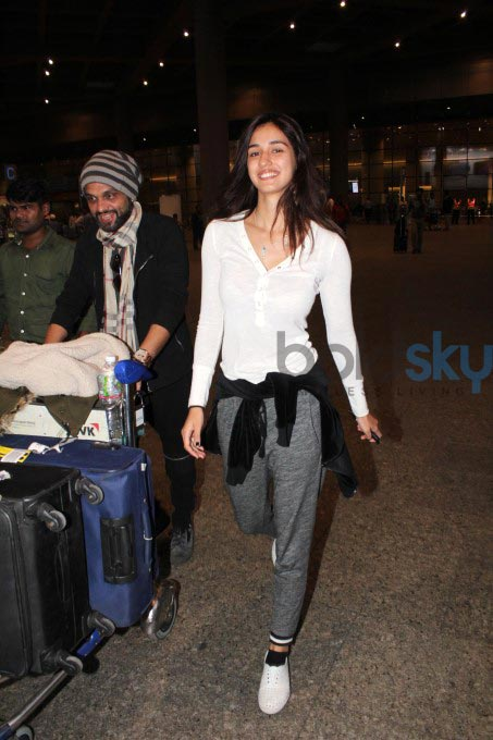 Disha Patani Latest Airport Look