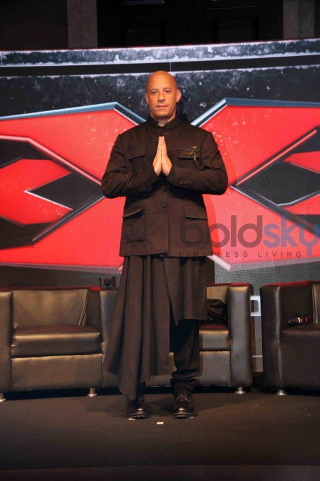 Vin Diesel And Deepika Padukone Shine At The XXX Press Conference