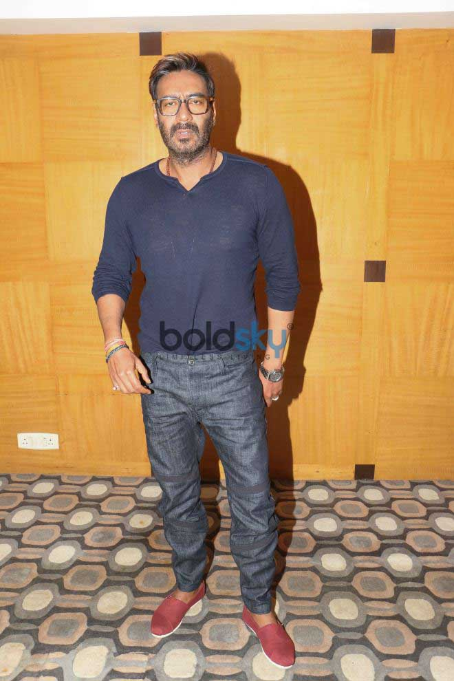 Ajay Devgn For Baadshaho Promotions