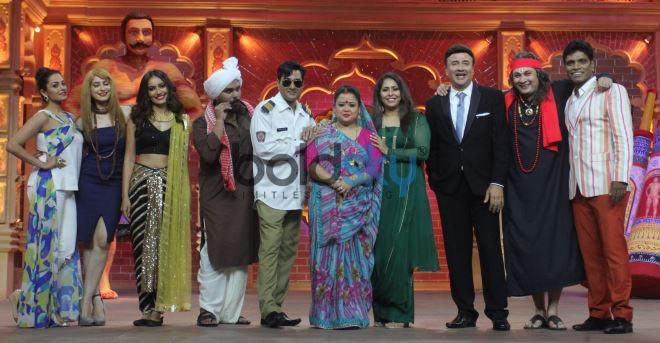 Ankit Tiwari, Manoj Muntashir and Geeta Kapoor At Comedy Dangal