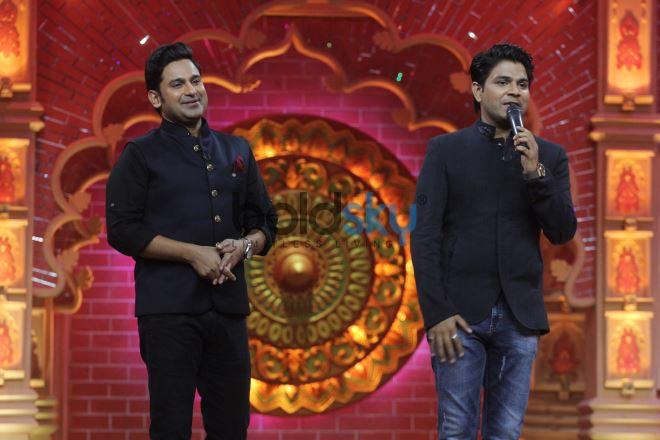 Ankit Tiwari, Manoj Muntashir and Geeta Kapoor At Comedy Dangal