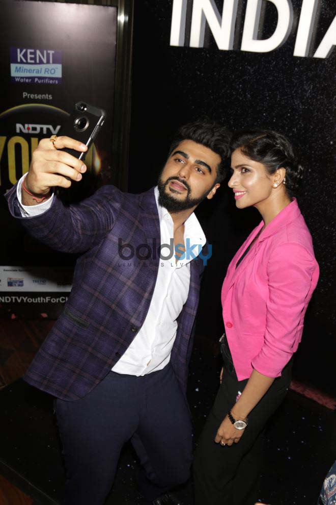 Arjun Kapoor At NDTV Youth For Change Event