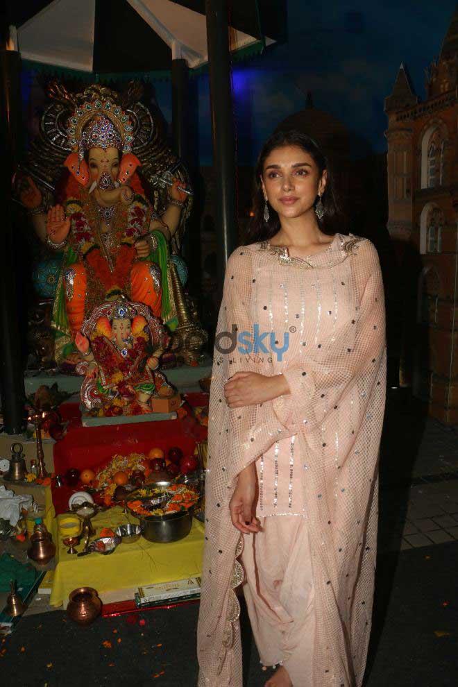 Celebs Celebrate First Day Ganesh Chaturthi