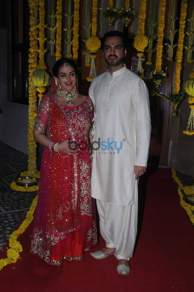 Esha Deol Baby Shower Ceremony