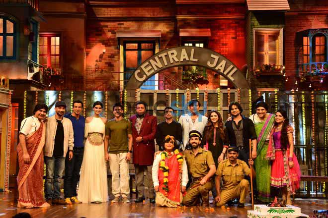 Film Lucknow Central Promoton On The Set Of Drama Company With Star Cast Of The Film