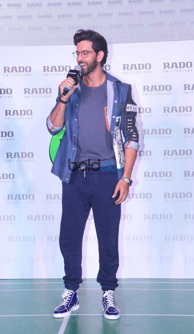 Hrithik Roshan For Rado Watches